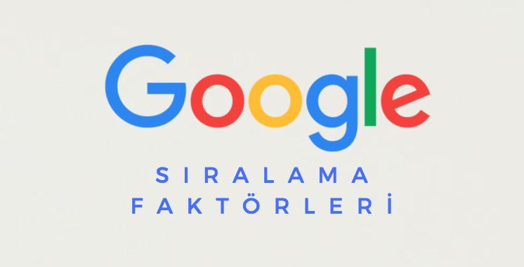 google-siralama-faktorleri